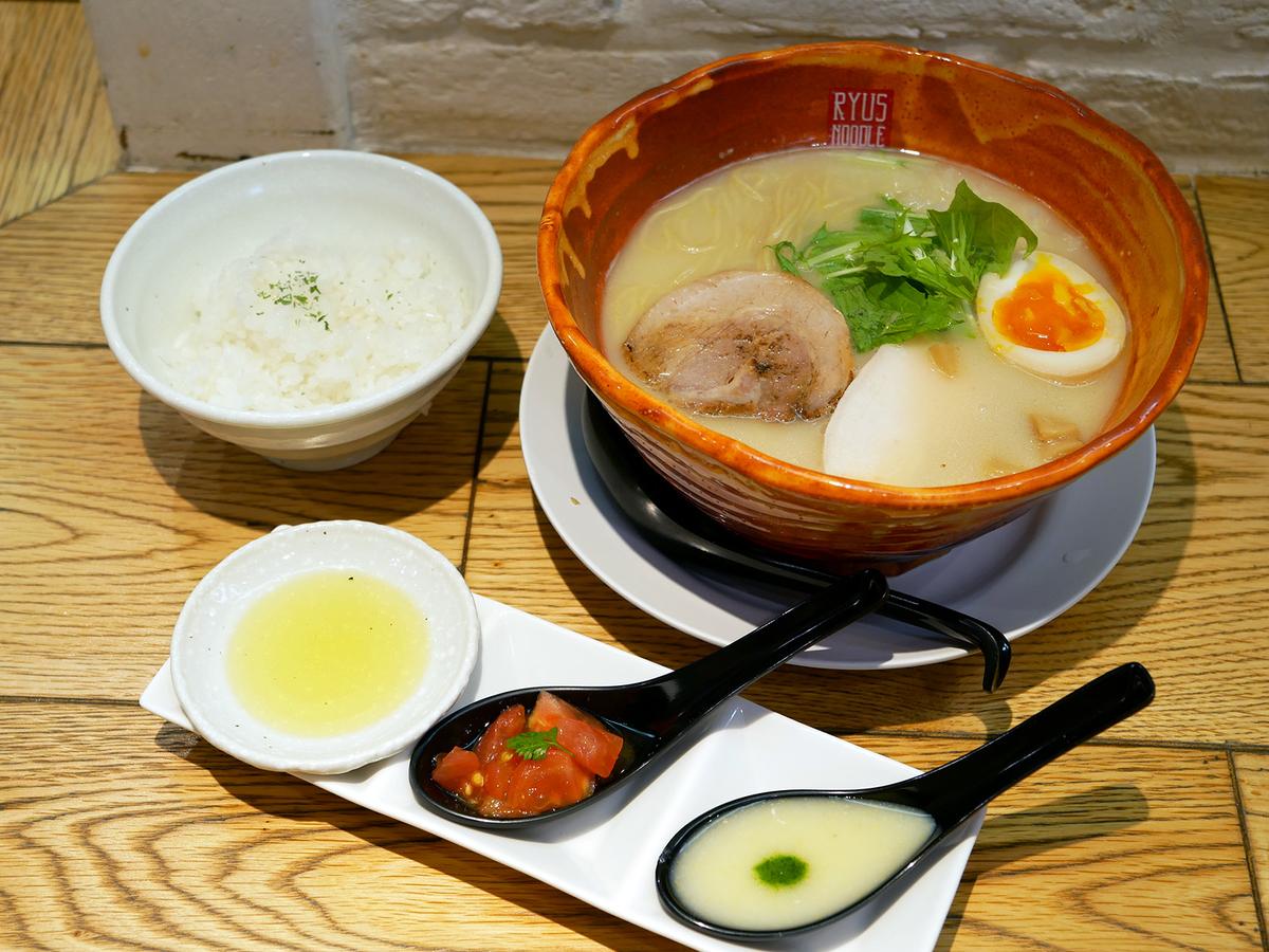 新横浜ラーメン博物館「麺や颯 RYUS NOODLE BAR(リューズヌードルバー)」卒業ラーメン