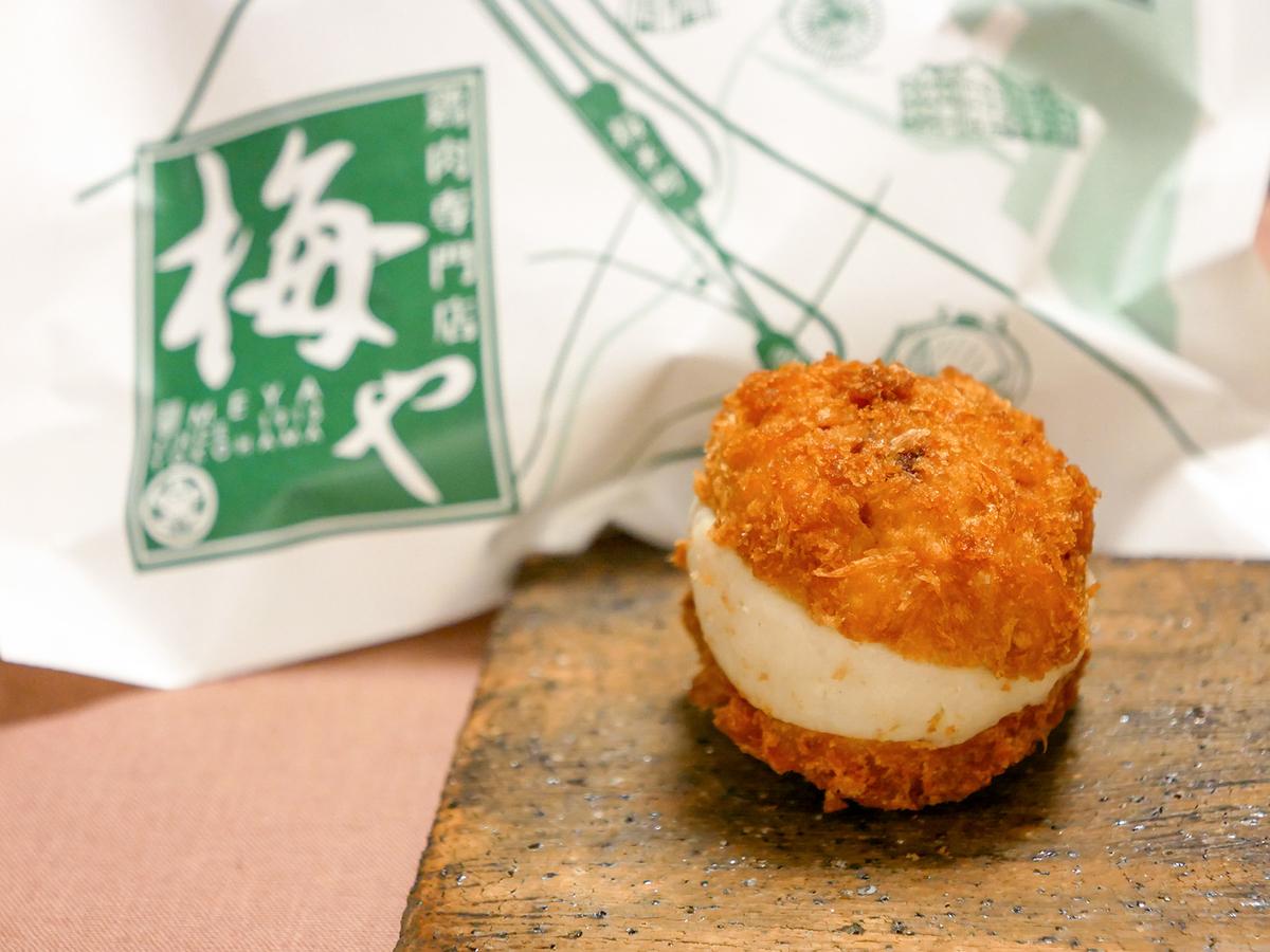梅や「鶏トッツォ」(238円)