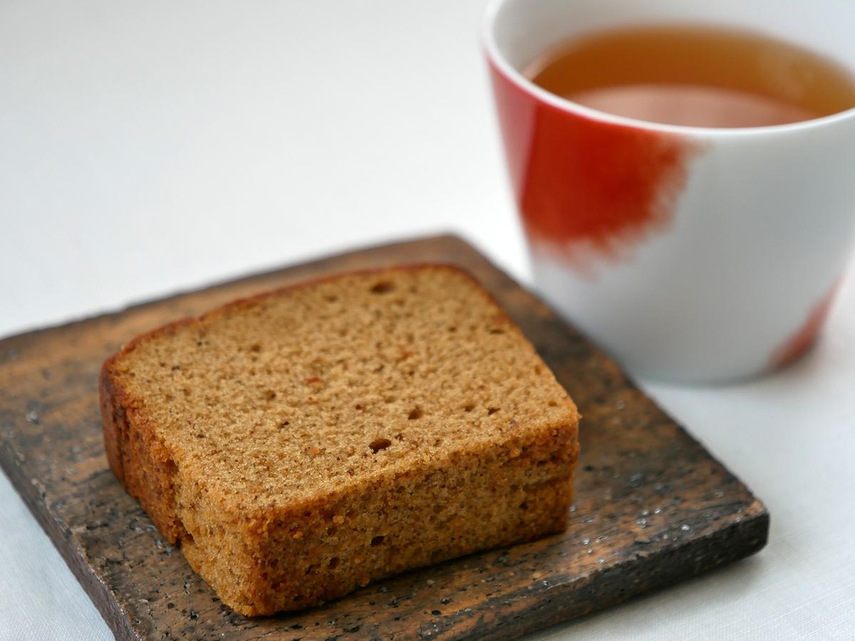 ごぼう茶 パウンドケーキ