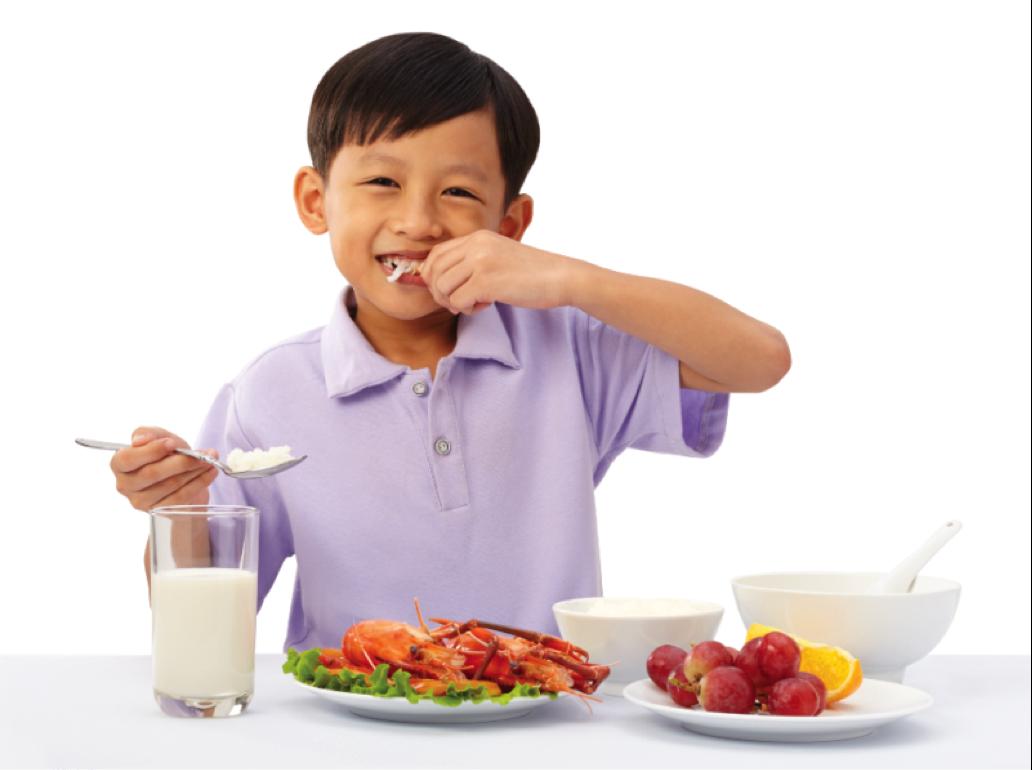 Đảm bảo vệ sinh thực phẩm giúp trẻ khỏe mạnh hơn