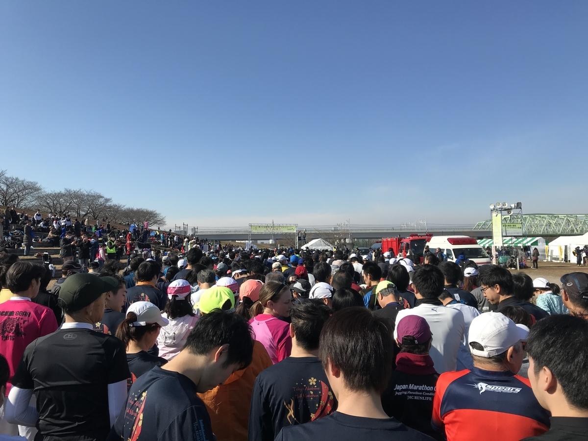 赤羽ハーフマラソン(2019年1月20日)
