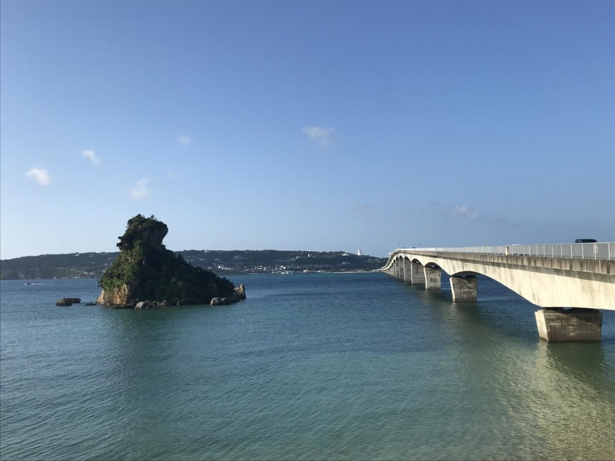 古宇利大橋展望所からの風景