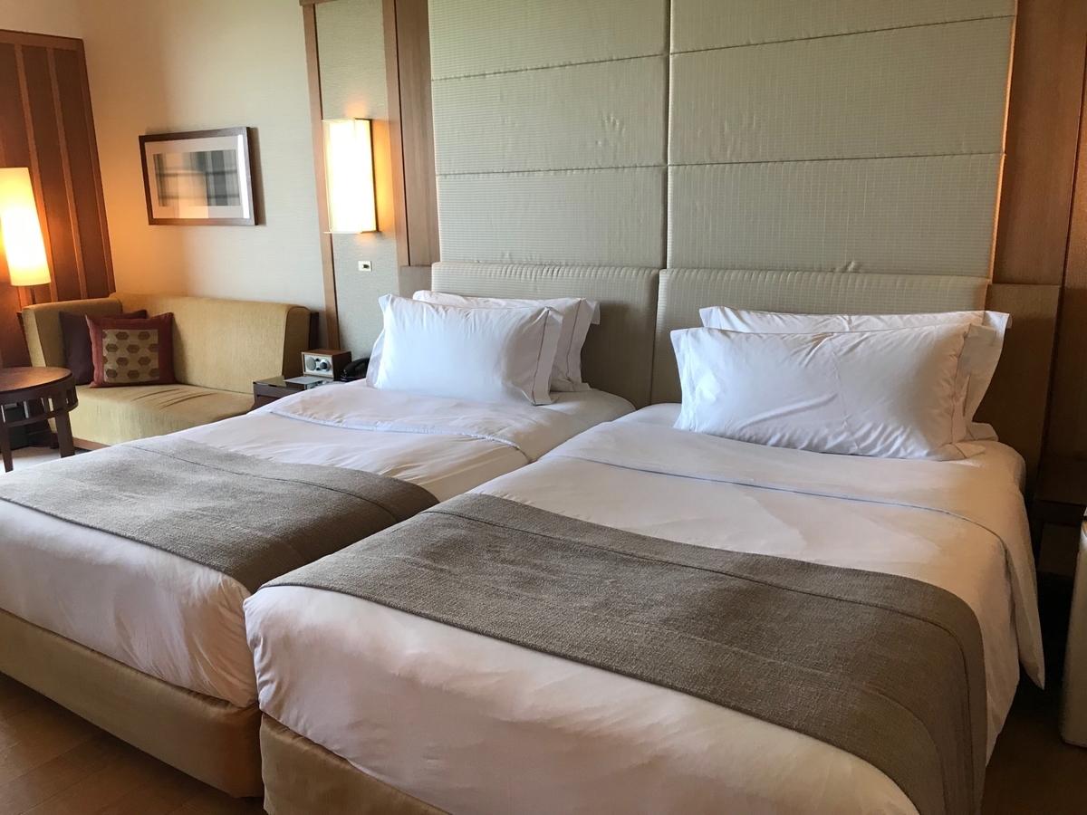 ベッド in ザ・リッツ・カールトン沖縄