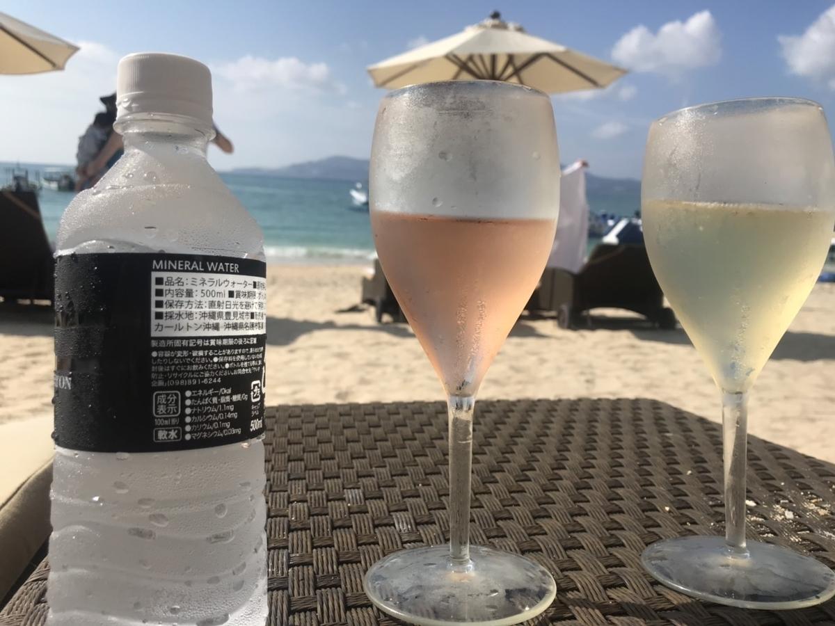 ロゼ&シャンパン in ザ・リッツ・カールトン沖縄