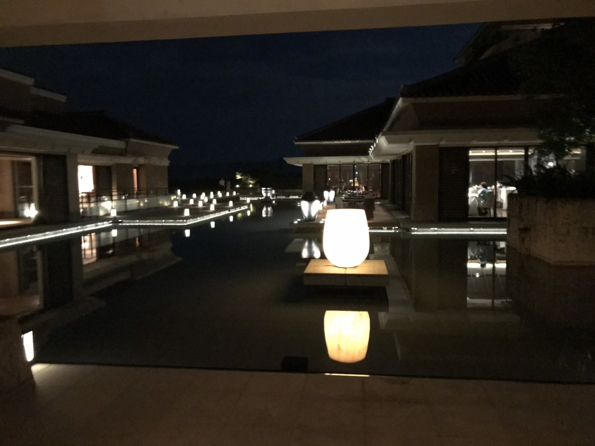 夜景 in ザ・リッツ・カールトン沖縄