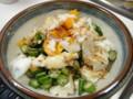 [食][豆腐][オクラ][サラダ]