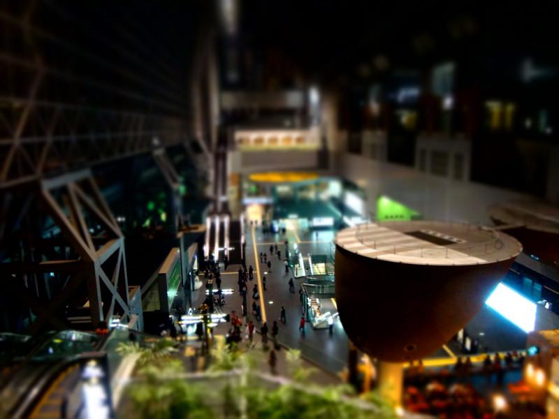 [ミニチュア][京都駅][京都][京都市][DSC-TX300V]