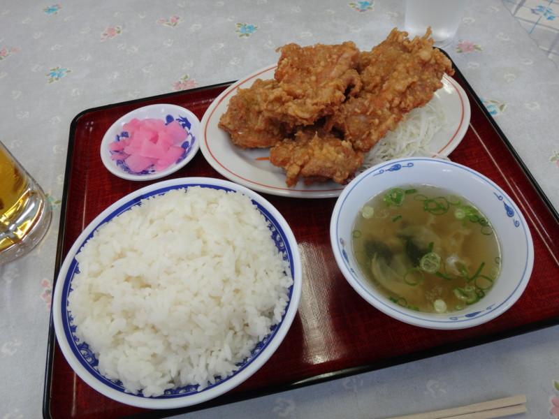 [ミン龍][から揚げ][食][food][定食]