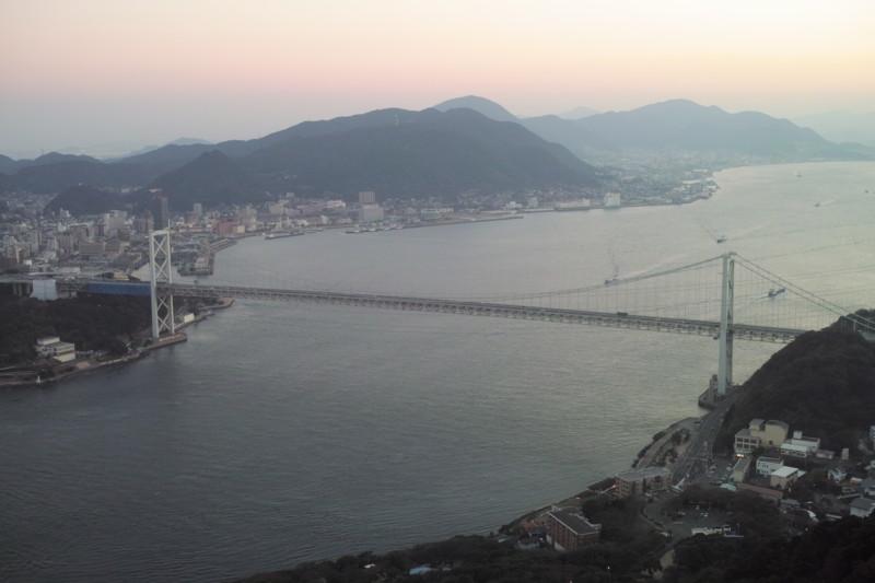 [関門海峡][関門橋][火の山][風景][下関市][門司区][北九州市][SIGMA][DP2][シグマ]