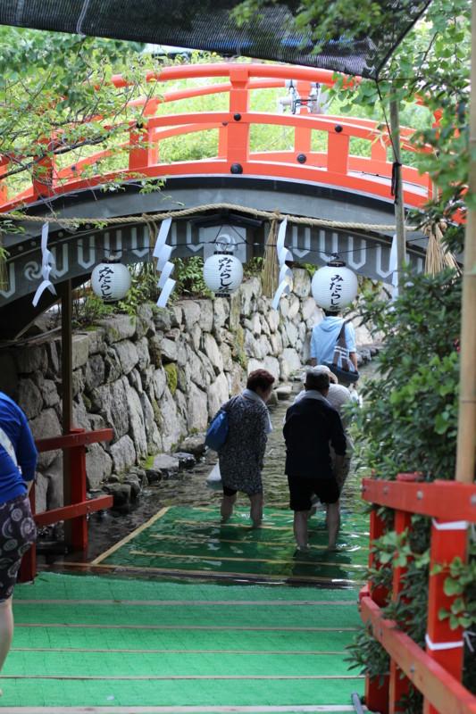 [Kyoto][Japan][京都市][京都][下鴨神社][みたらい祭][御手洗祭][足つけ神事]
