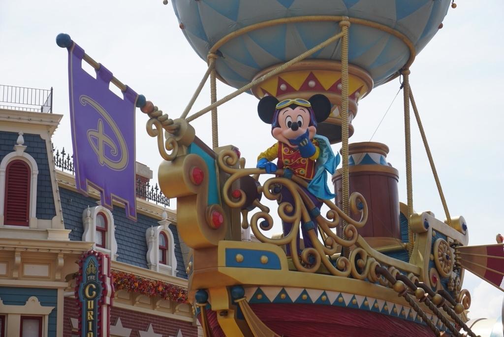 香港ディズニー フライトファンタジーパレード