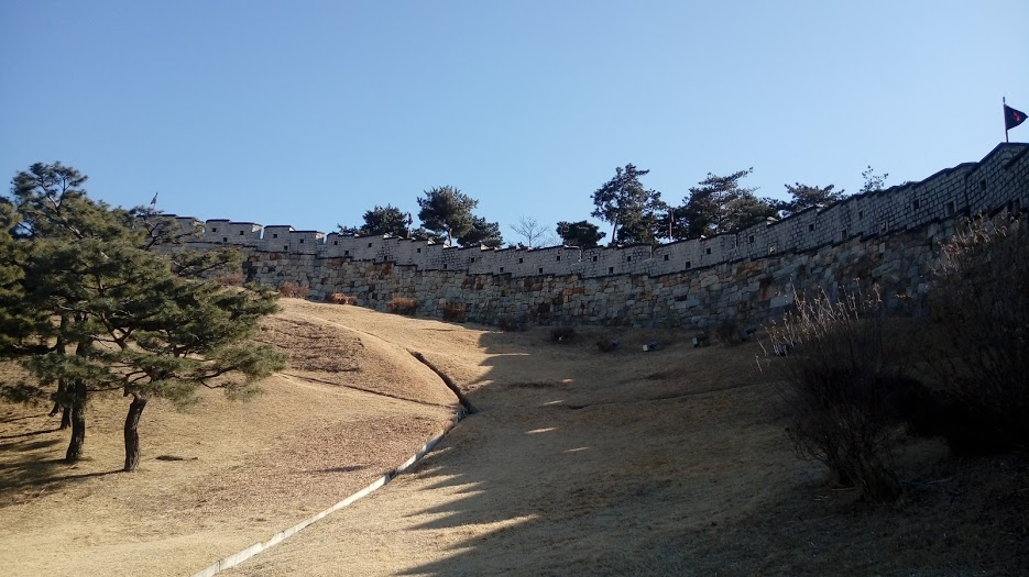水原華城の城壁