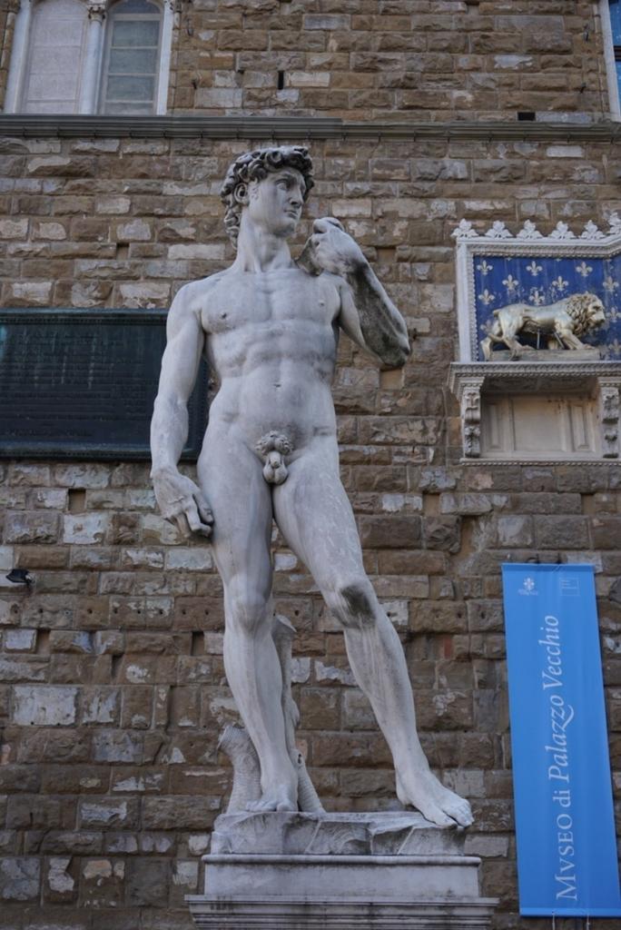 フィレンツェ ダヴィデ像