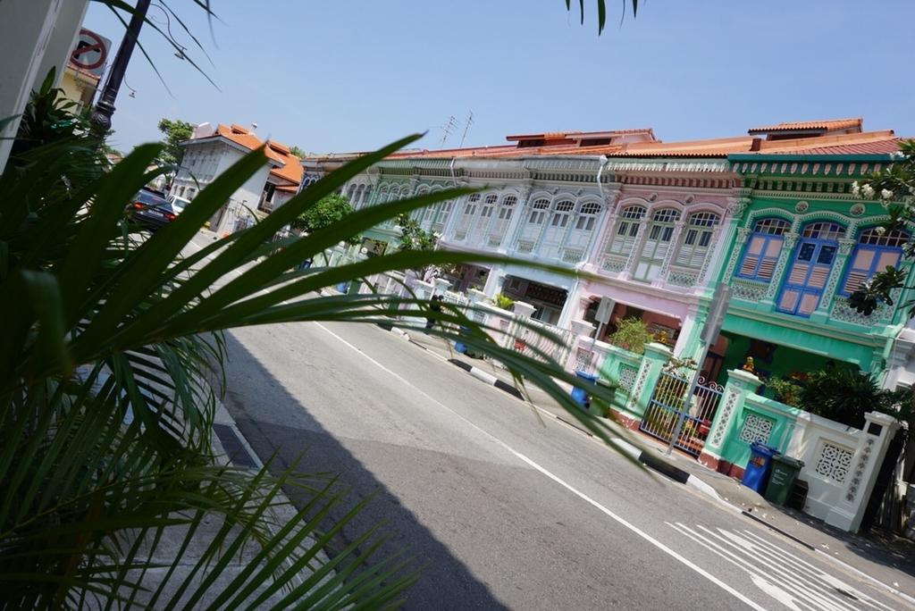 シンガポール カトン プラナカン建築