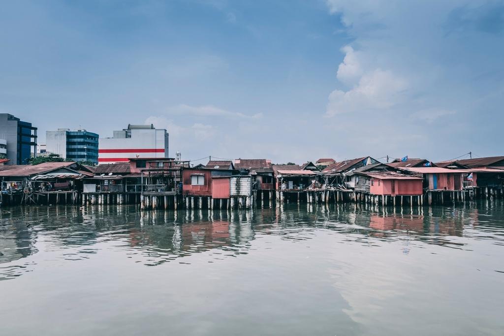 マレーシアの世界遺産ペナン島・ジョージタウン