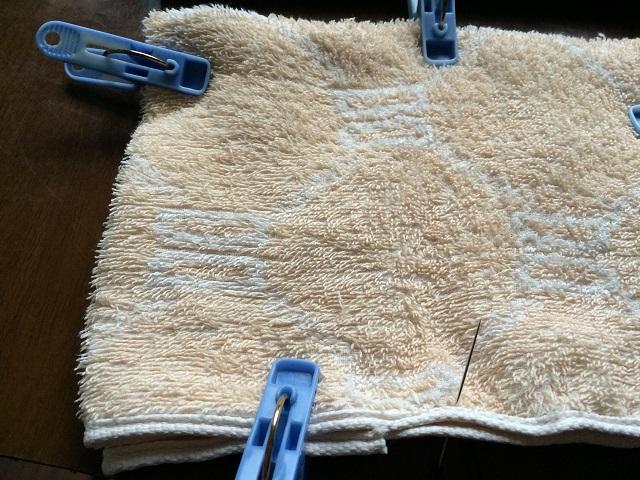 雑巾 作成方法
