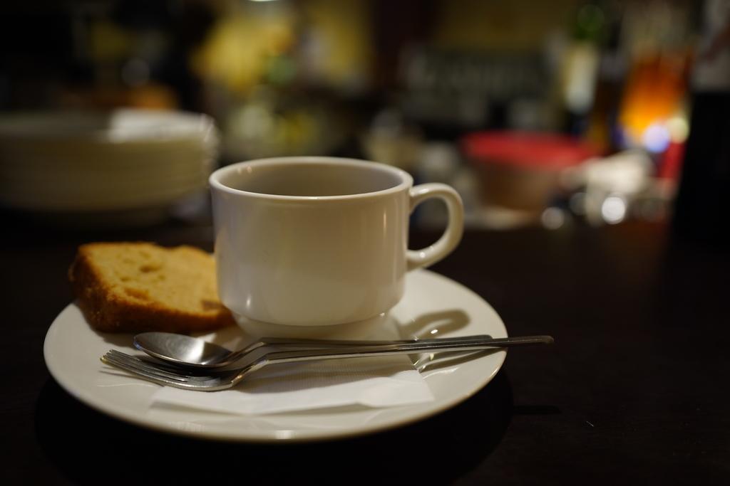 ダブリンルームカフェ ブレンドコーヒー デザート