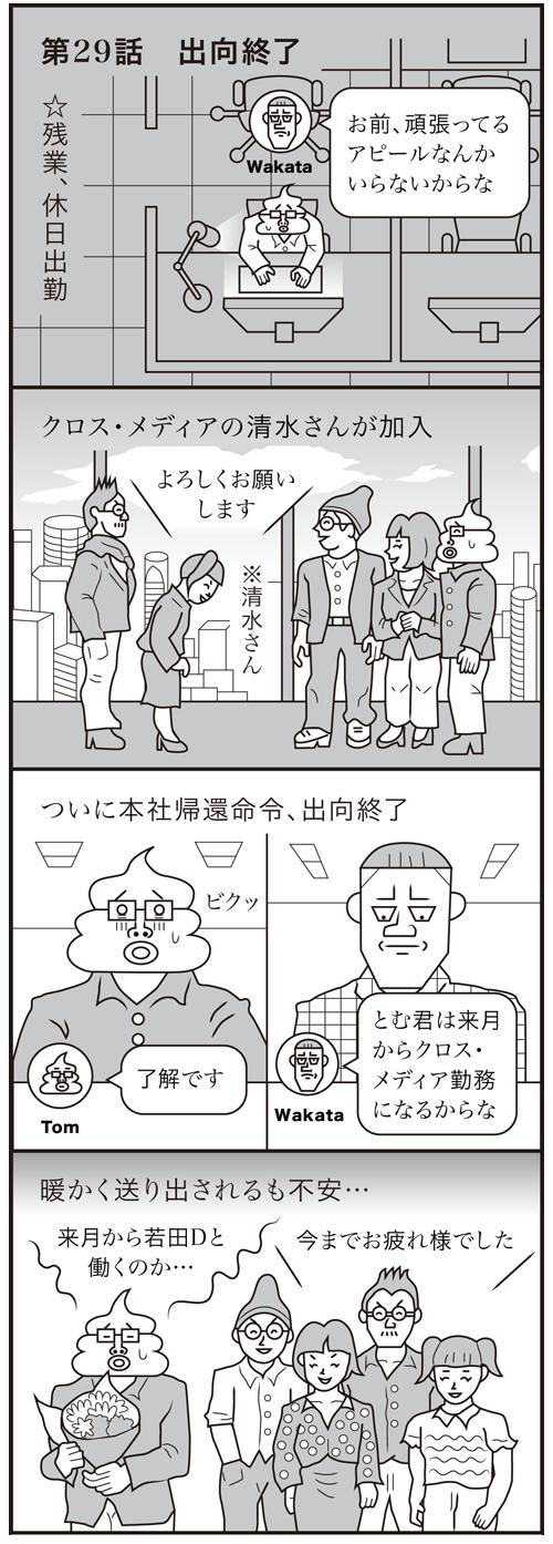 【社会人編】第29話 出向終了