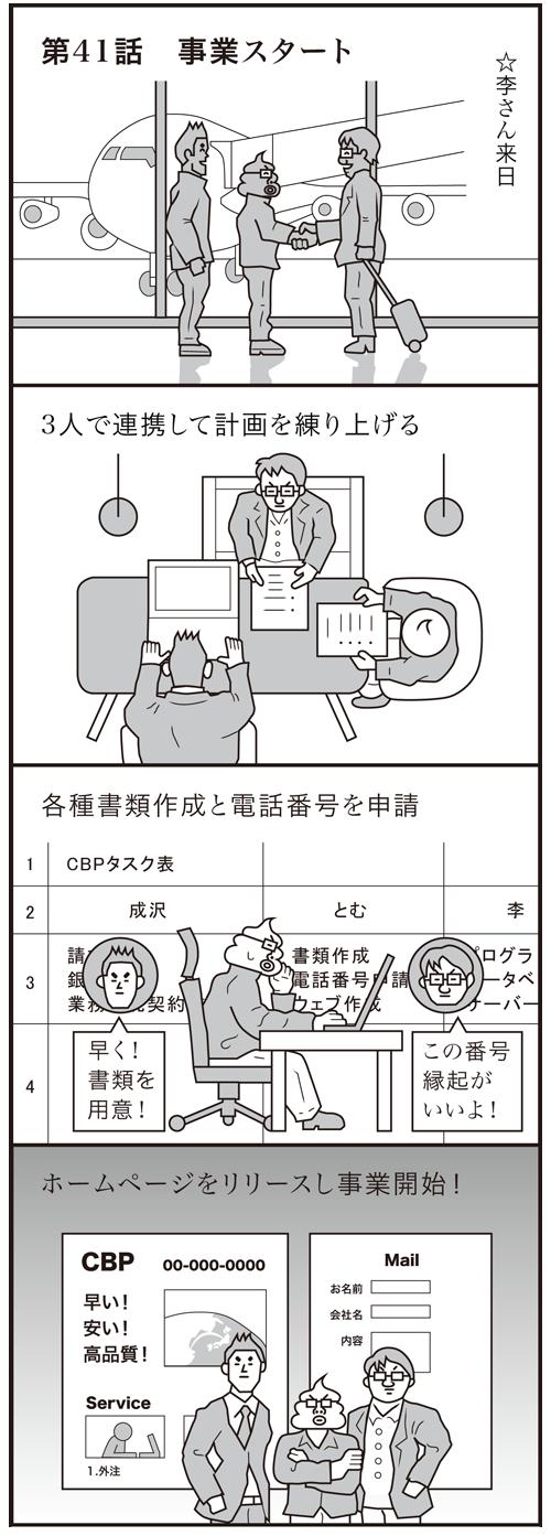 【妄想の履歴書】第41話 事業スタート
