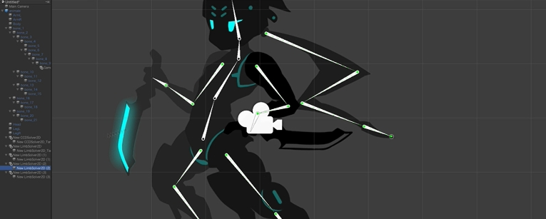 Unity】2D Animation(v2)でボーンベースで動くキャラクターを