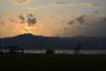 [琵琶湖][昼景]ダイヤモンド比叡山