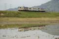 [鉄道]京都新聞写真コンテスト 水鏡を行く信楽高原鐡道