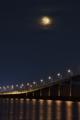 [夜景][琵琶湖]京都新聞写真コンテスト おぼろ月夜