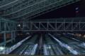 [鉄道][夜景]時空の広場から