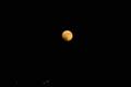 [星空]月食の始まり