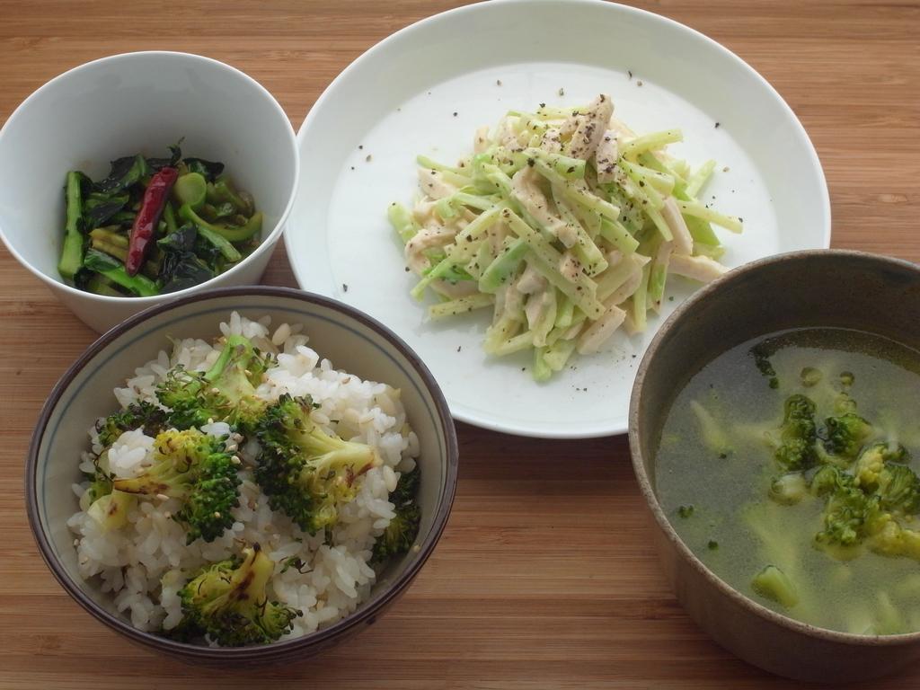 茎 レシピ ブロッコリー