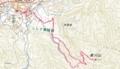 高川山登山ルート