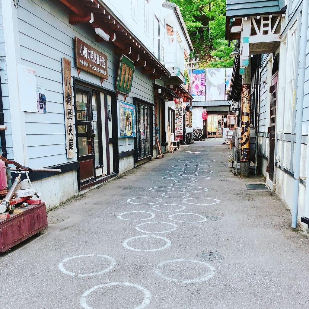 北海道旅行 小樽 運河