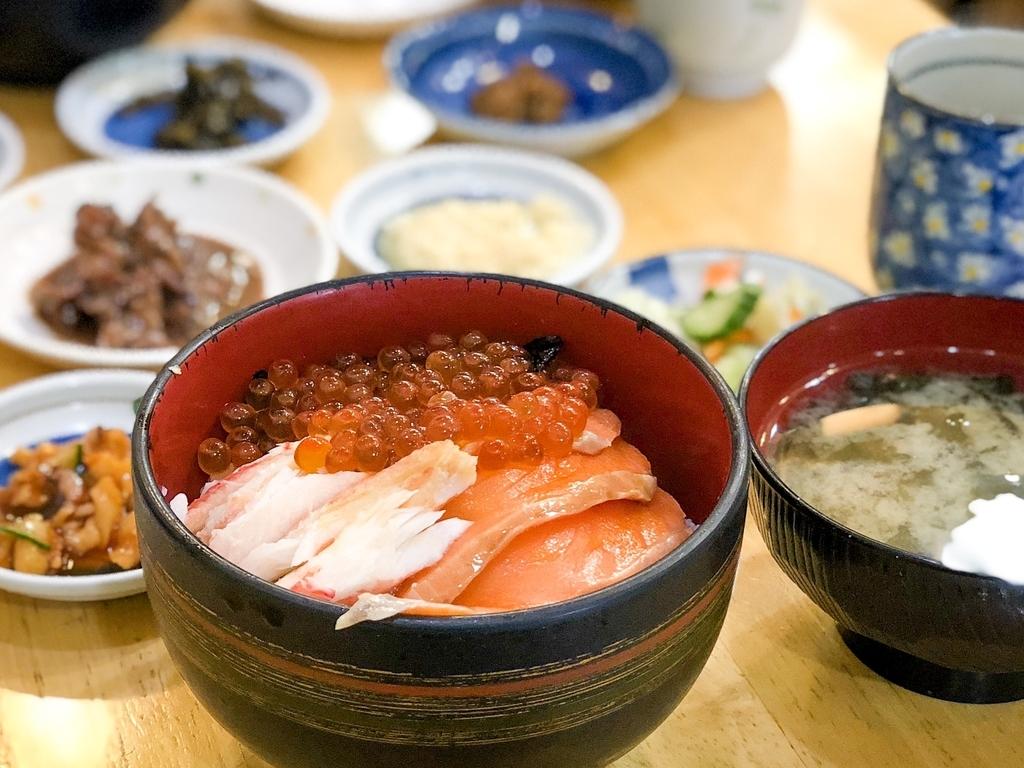 北海道旅行 函館市場 海鮮丼