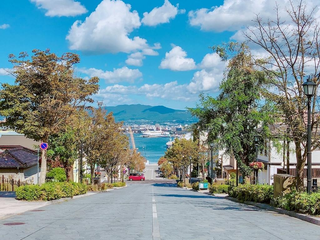 北海道旅行 函館 八幡坂