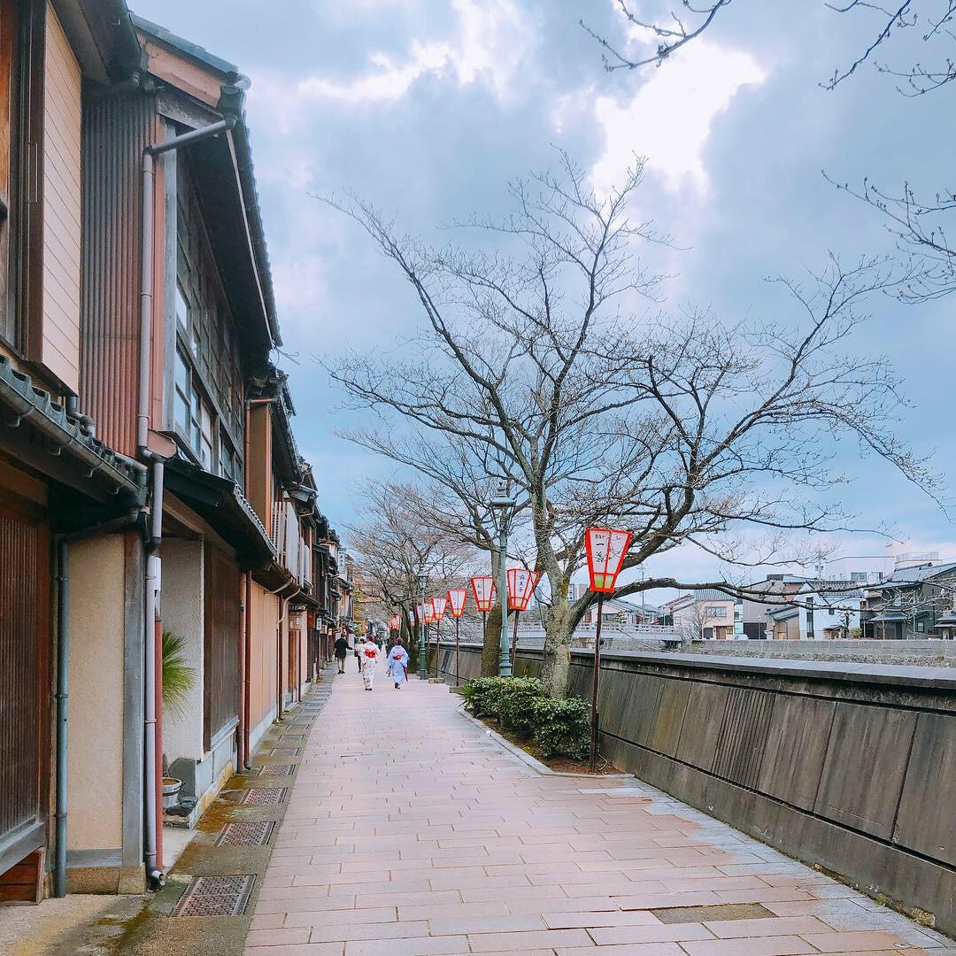 金沢旅行 浅野川大橋 料亭街