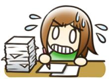 月子 イラスト 終わらない!