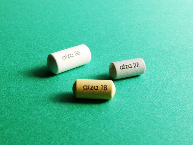 コンサータ錠 3種類