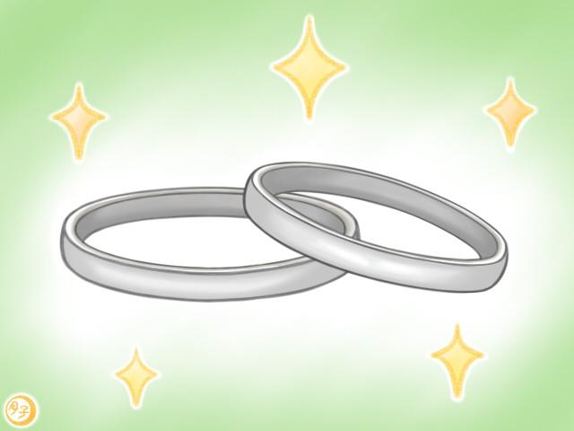 ADHD イラスト 結婚指輪
