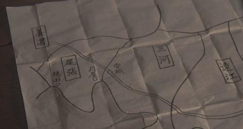 水野信元が奮戦する刈谷城の位置