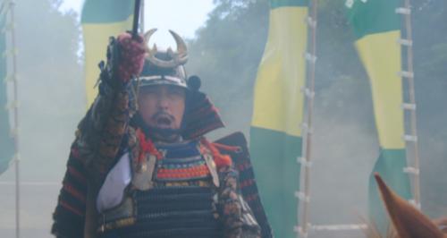 細川晴元との戦いで指揮を執る三好長慶