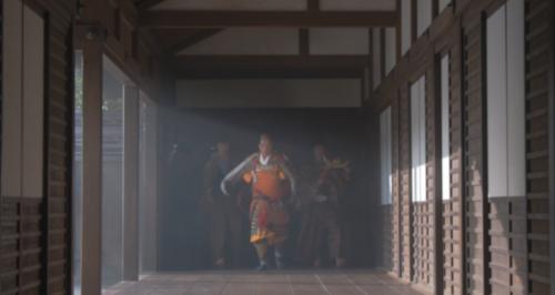 清須の周りを焼き払って帰ってきた織田信長