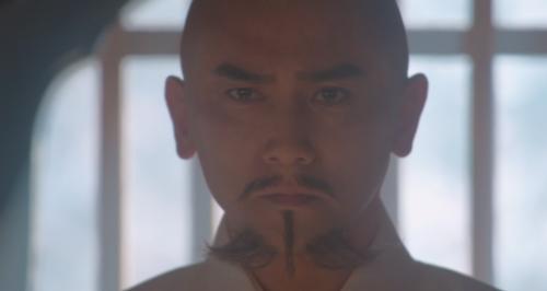 スキンヘッドが超お似合いな本木雅弘さん演じる斎藤道三