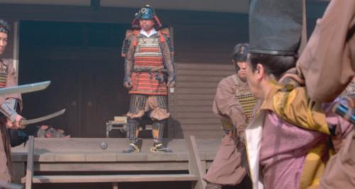 尾張守護・斯波義統を襲撃する坂井大膳たち