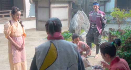 望月東庵先生、駒、菊丸、そして成長した松平元信