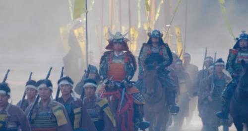 上洛途上の織田信長の軍勢