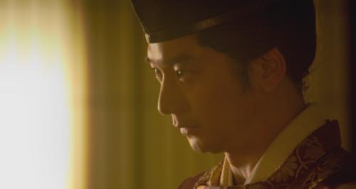 京に戻り三好長慶と面会する足利義輝