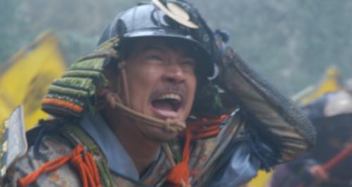 中島砦付近で今川勢に攻めかかる佐々隼人正政次
