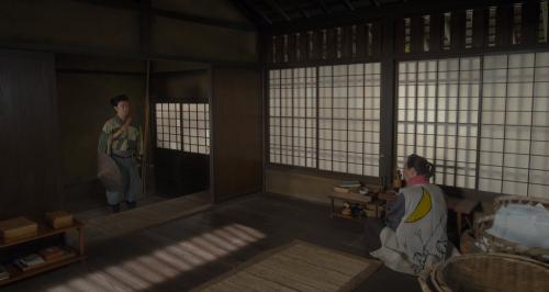 望月東庵先生と久々に対面する明智十兵衛光秀