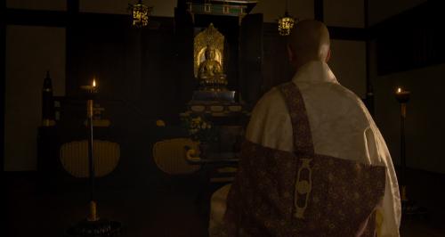 松永久秀に自分は将軍の器にないという覚慶、後の足利義昭