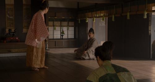 覚慶は将軍に相応しくないという返答を聞いて動揺を隠せない朝倉義景